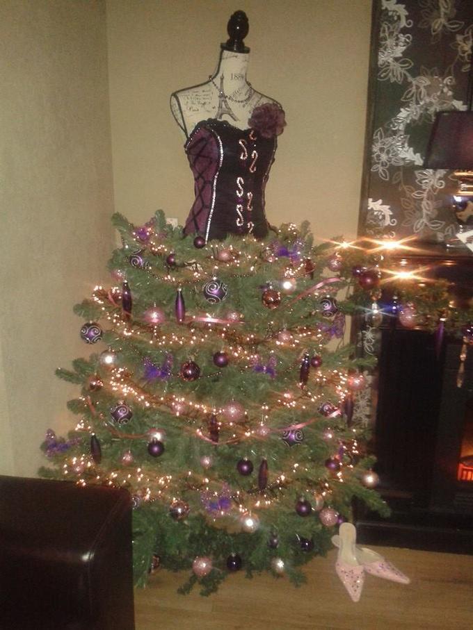 Nieuw Eens wat anders dan de traditionele kerstboom! Nu maar eens een TS-72