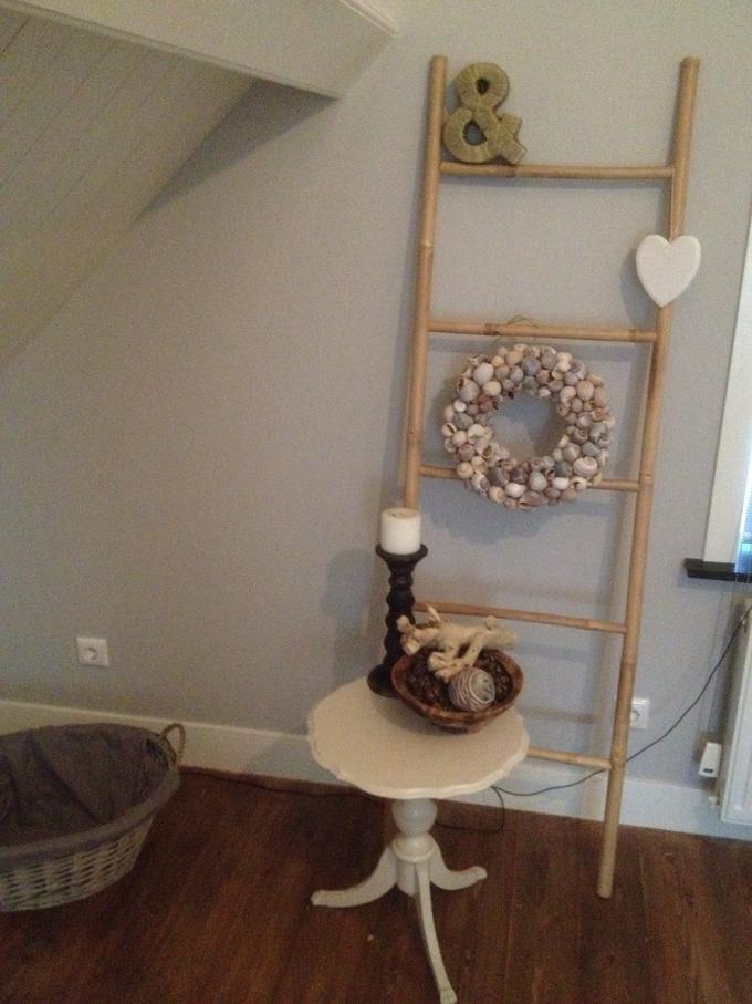 Ongebruikt Leuke ladder van xenos ter decoratie in de slaapkamer. Ik heb er KX-12