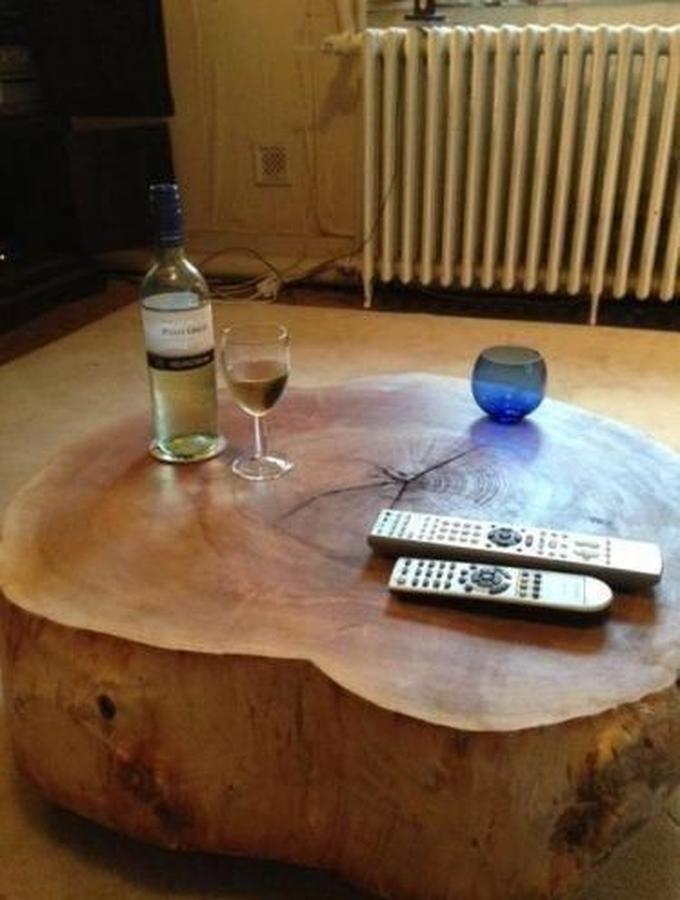 Onwijs Super gave stam van 100cm diameter om een boomstam salontafel van YE-49