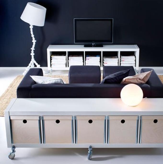Ikea Tv Meubel Kast.Ikea Tv Meubel Op Wielen Expedit Kast Foto Geplaatst Door