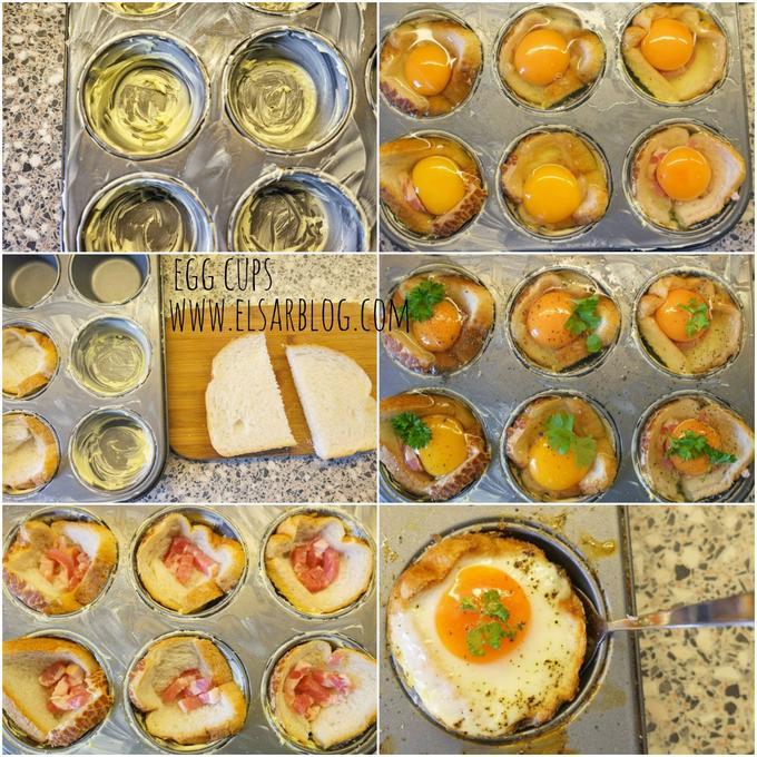 Verwonderlijk Eier muffins met spekjes (hartig hapje, makkelijk hapje, high tea YP-77