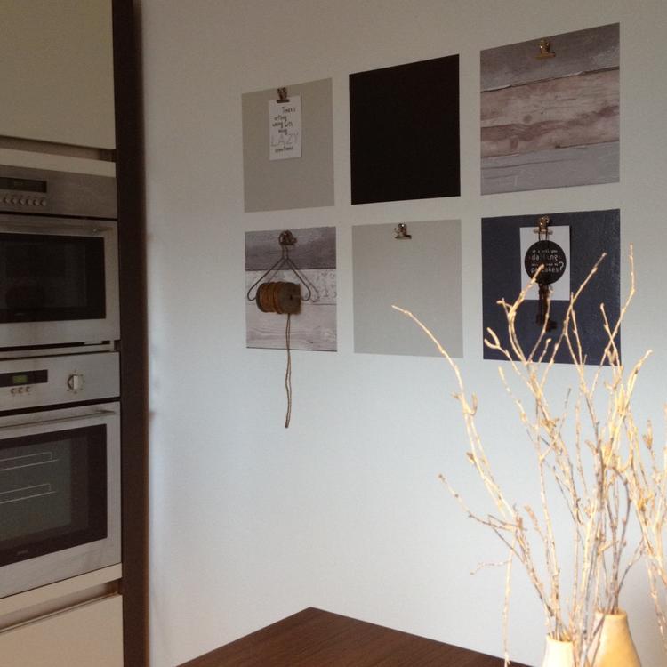 Foto Op Behang Hema.Leuk Voor In De Keuken Vlakken Van 30 X 30 Cm Voorzien Van Behang