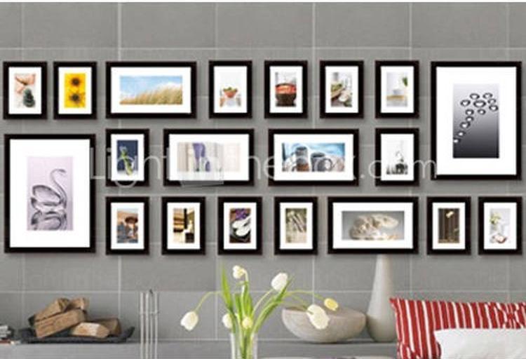 Fotowand Ikea fotowand horizontale band ribba fotolijsten foto geplaatst door