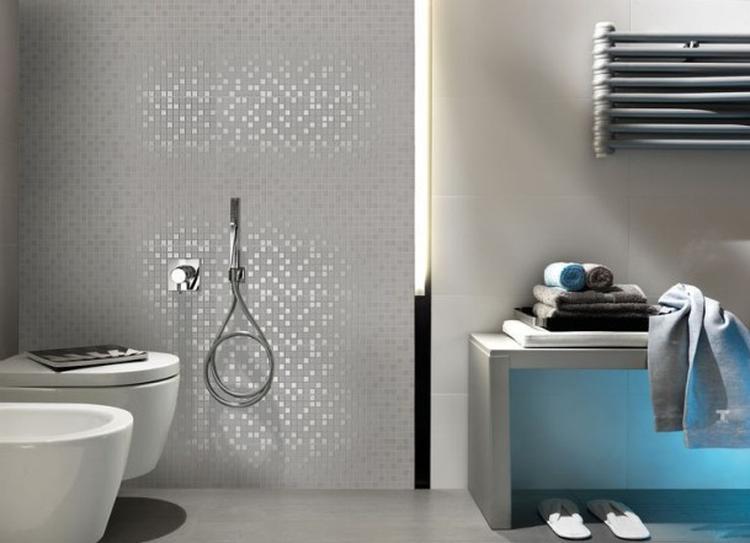 Welke Lookbook Badkamer : Mooie glasmozaiektegeltjes voor in de badkamer foto geplaatst