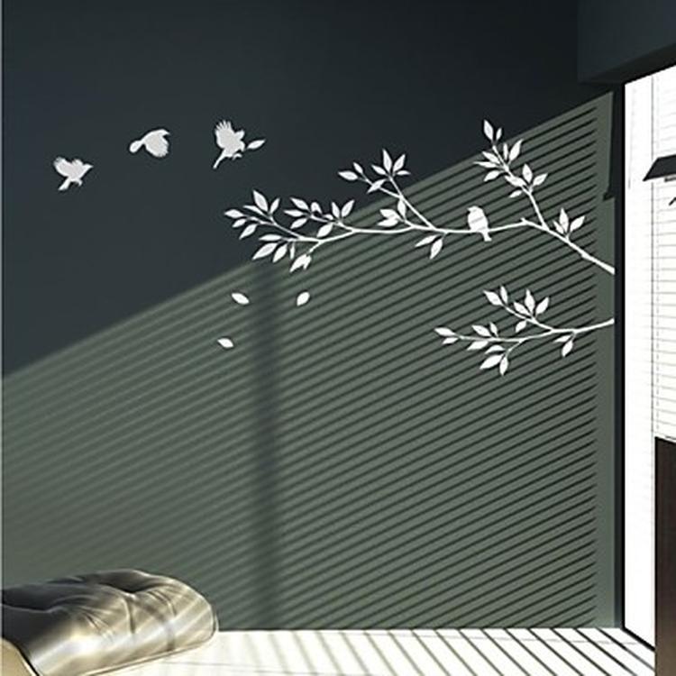 Muurstickers Tak Met Vogels.Muursticker Tak En Vogels Foto Geplaatst Door Changethelivingroom