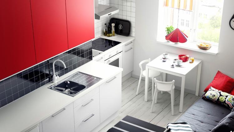 Witte ikea affordable werkbladen ikea bc van design keukens en