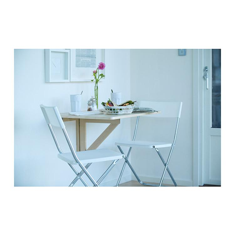 Ikea Klaptafel Tuin.Klaptafel Voor De Wand Ikea Leuk Voor In De Keuken Foto