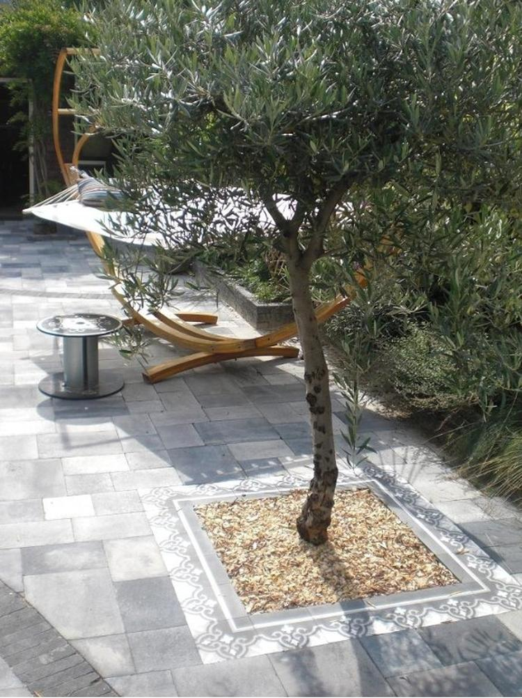 Spaanse Tegels Tuin.Portugese Tegels Tuin