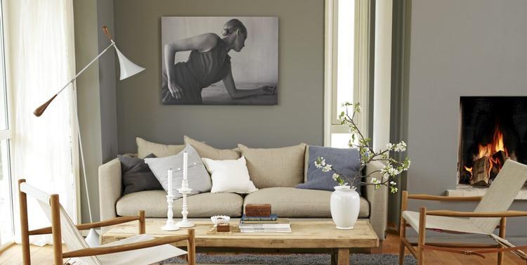 natuurlijke kleuren woonkamer. foto geplaatst door alleswit op, Deco ideeën