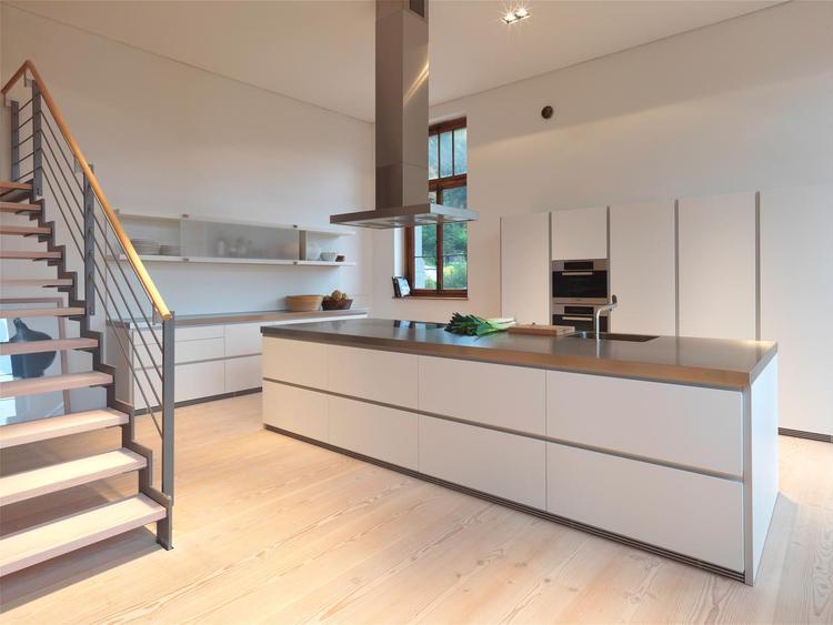 Keuken bruin moderne - Fotos van moderne keuken ...