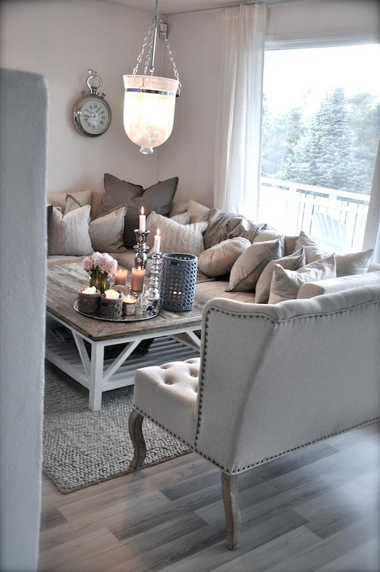 landelijke stijl woonkamer, sfeervol en gezellig. Foto geplaatst ...
