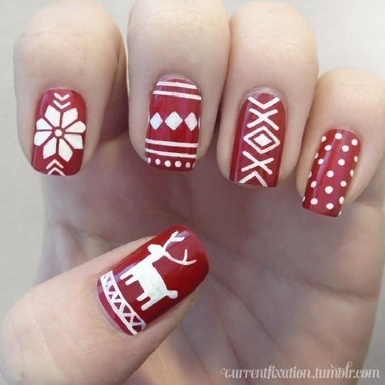 966f4449905c5a super mooie kerst nagels.. Foto geplaatst door suusxx op Welke.nl