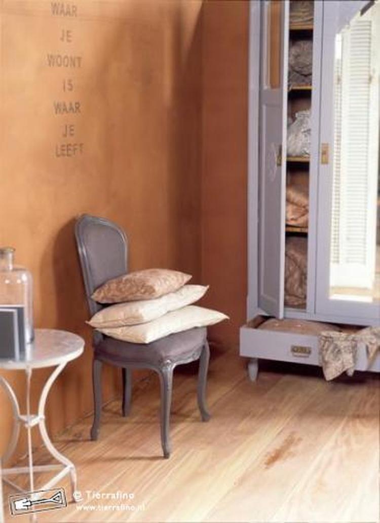 mooie kleur leem voor woonkamer. Foto geplaatst door vivit op Welke.nl