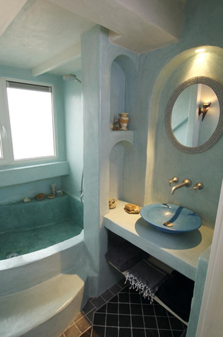 hele mooie kleur tadelakt voor de badkamer.. Foto geplaatst door ...