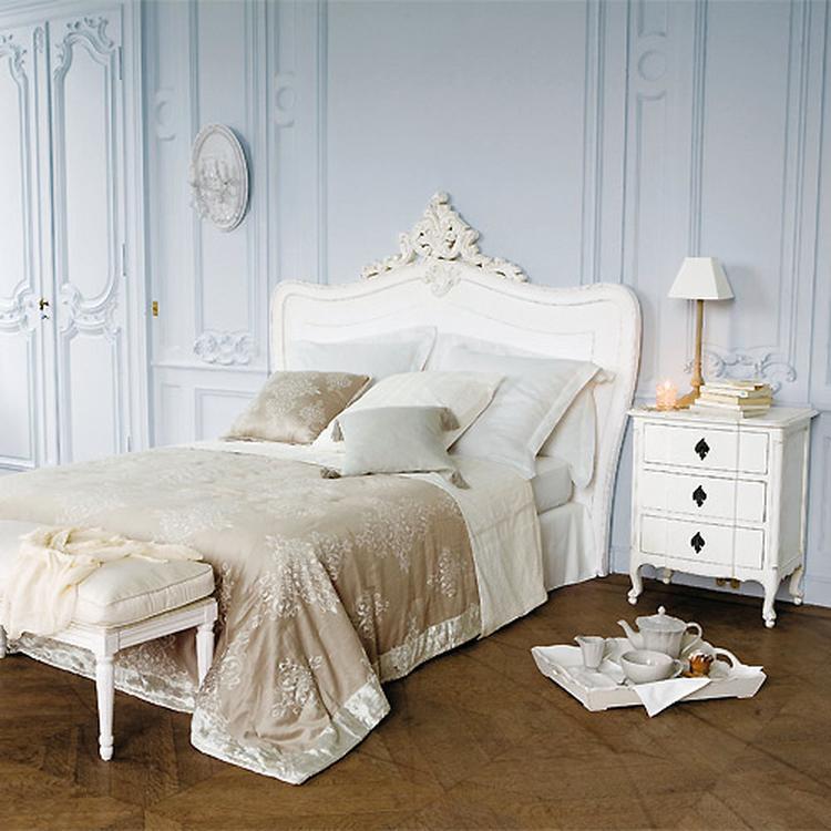 Oud Brocant Bed.Prachtig Sierlijk Brocante Bed Slaapkamer Foto Geplaatst
