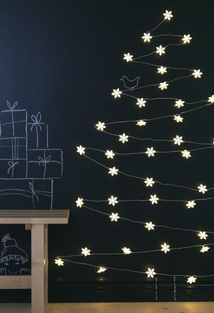 Kerstboom Van Lichtjes Foto Geplaatst Door Woonschrift Op Welke Nl