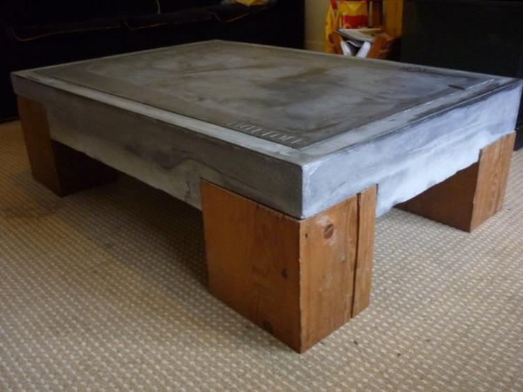 Beton Tafel Buiten : Beton tafel