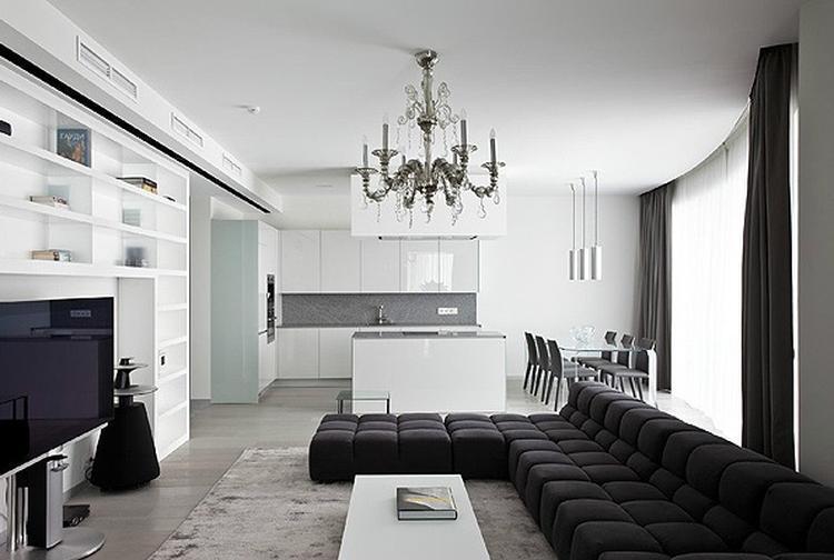 moderne woonkamer wit] - 100 images - prachtige moderne woonkamer en ...
