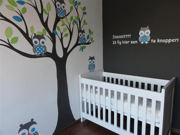 Mooie Baby Slaapkamer.Mooie Muurschildering Voor Baby Kamer Foto Geplaatst Door