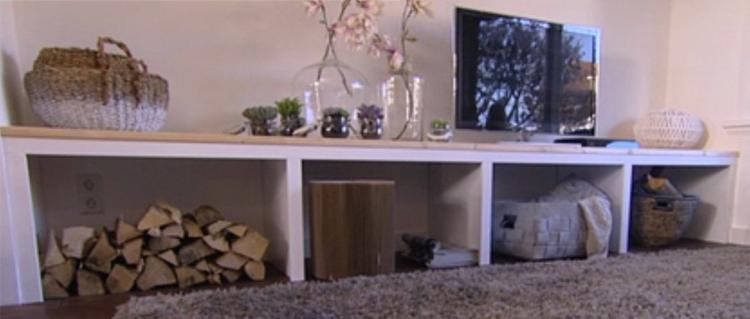 Zelf tv kast maken for Eigen huis en tuin kast maken