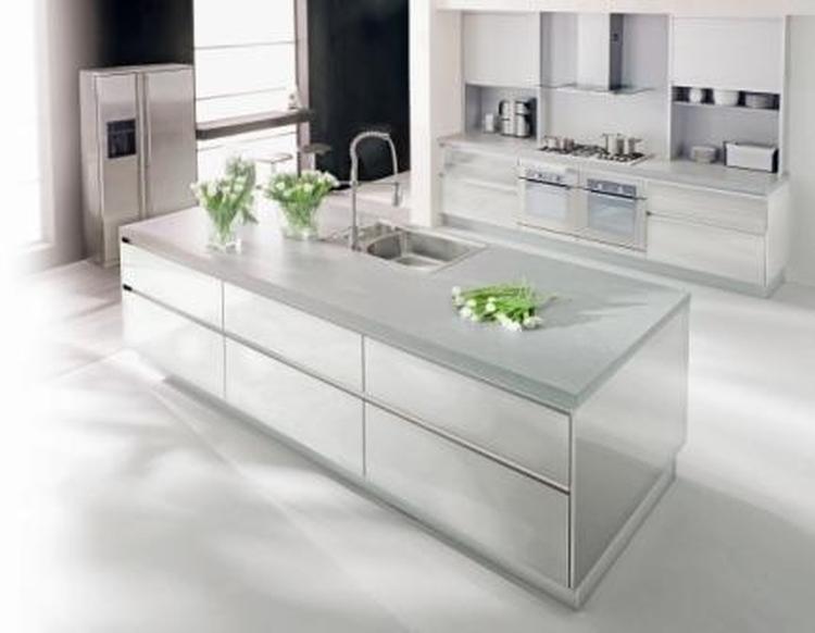 Strakke Witte Keuken : Strakke witte keuken. foto geplaatst door mexico op welke.nl