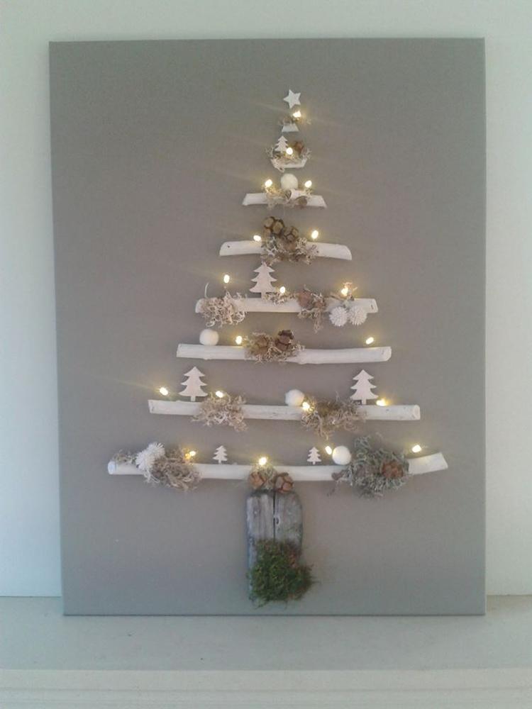 alternatieve kerst boom. foto geplaatst door kunstkriebels op welke.nl