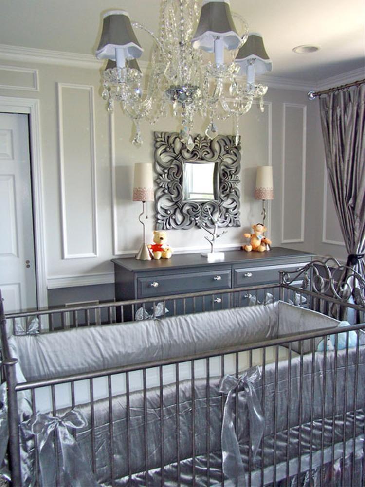 zilver grijze babykamer. foto geplaatst door t1nkerbell op welke.nl, Deco ideeën