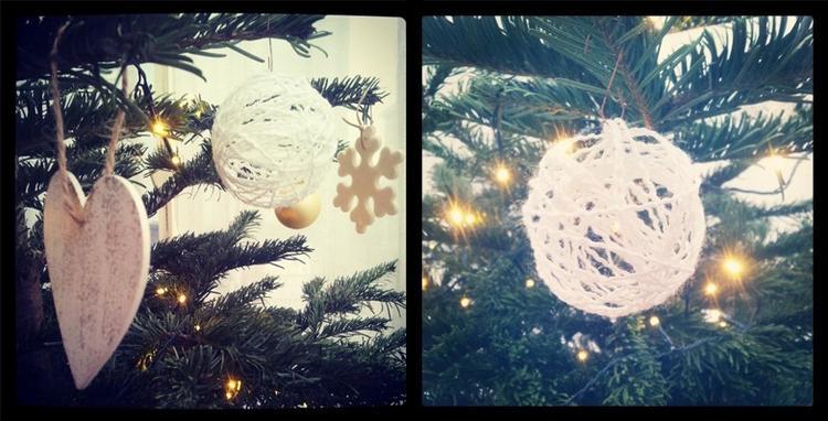 Diy Kerstballen Nodig Plaksel Wit Hema Waterbalonnen