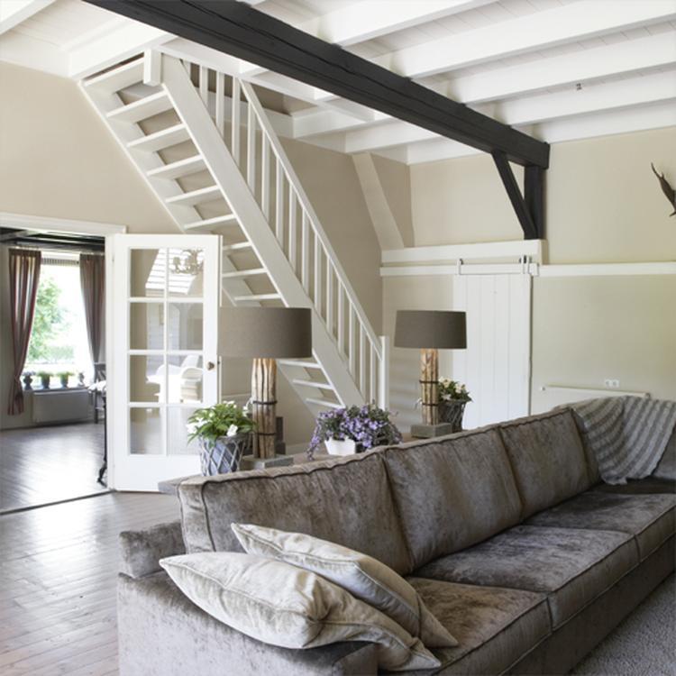 Mooie landelijke woonkamer. Foto geplaatst door jolanda85 op Welke.nl