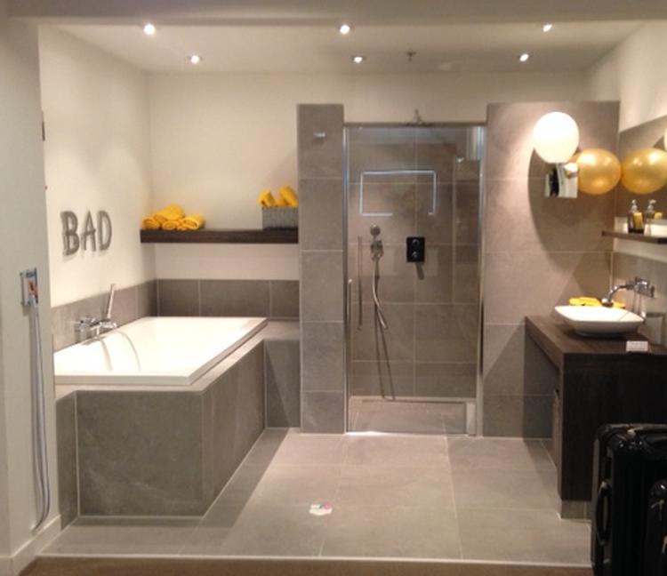 Prachtige badkamer bij Brugman. Foto geplaatst door jleijten op Welke.nl