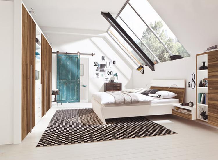 Mooie slaapkamer! Heerlijke ramen partij, ruimtelijk, mooie ...