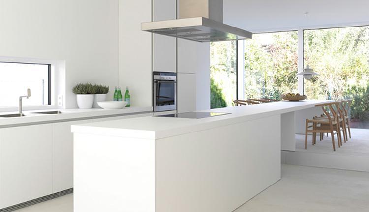 moderne keuken, strak. Foto geplaatst door Irene79 op Welke.nl
