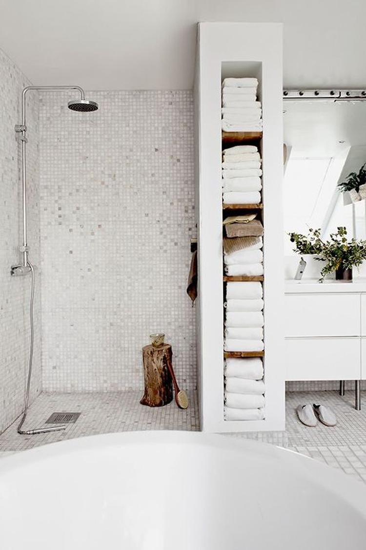 badkamer handdoekenrek x. Foto geplaatst door bloempje1 op Welke.nl