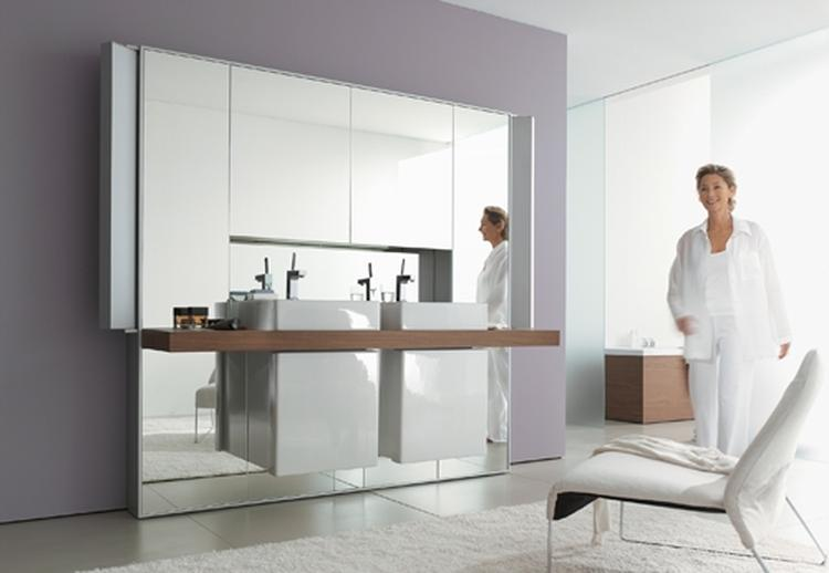 een kleine ruimte optisch vergroten, doe je met een spiegel. en, Deco ideeën