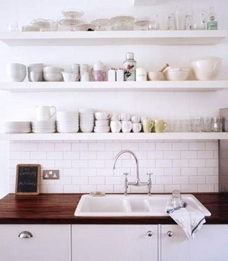 Open Kast Planken In Keuken Foto Geplaatst Door