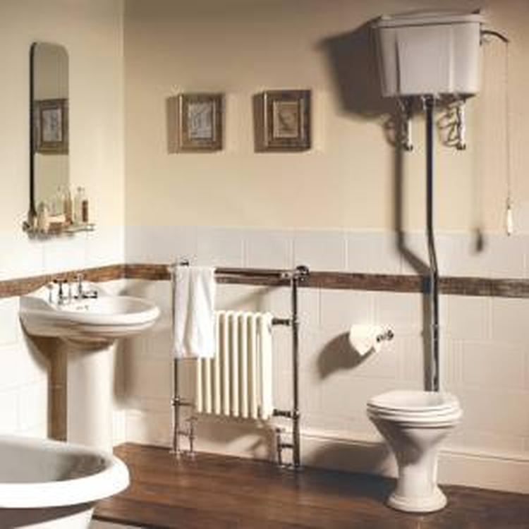 Het Hudson Reed Traditioneel hooghang toiletsysteem incl. reservoir ...