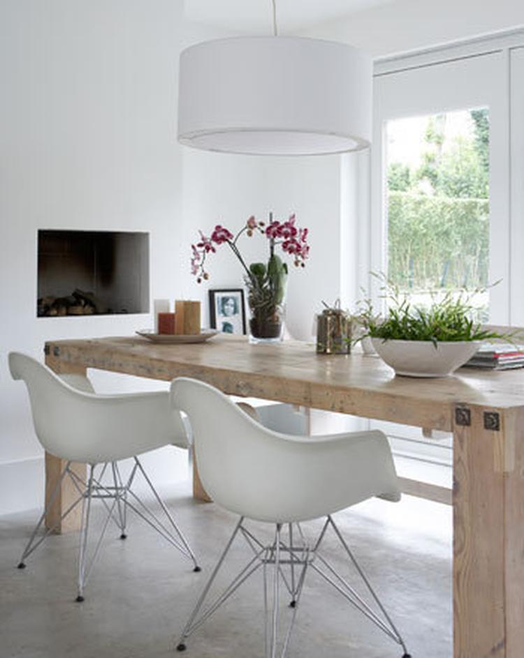 VT wonen, eetkamer,wit, naturel. Foto geplaatst door misskokkie op ...