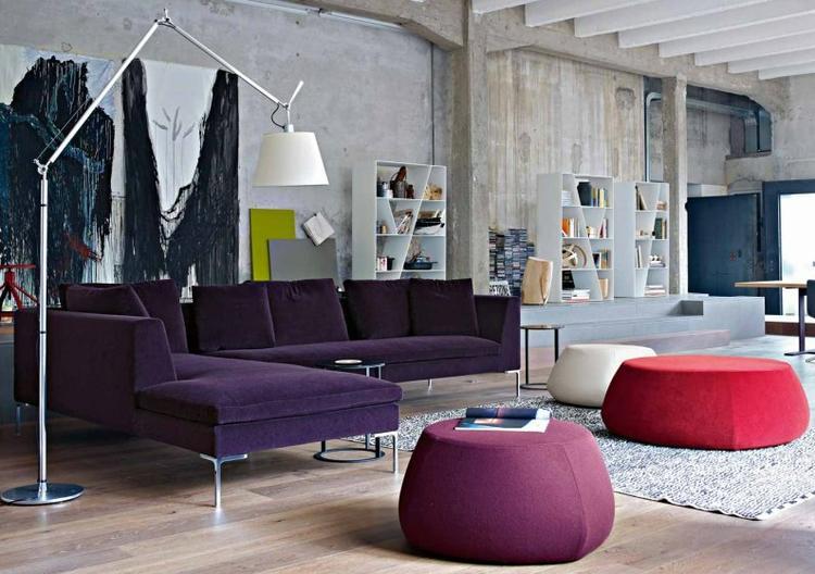 Eenvoudige Industrieel Woonkamer : Mix tussen industrieel en design gaaf deze woonkamer leuke