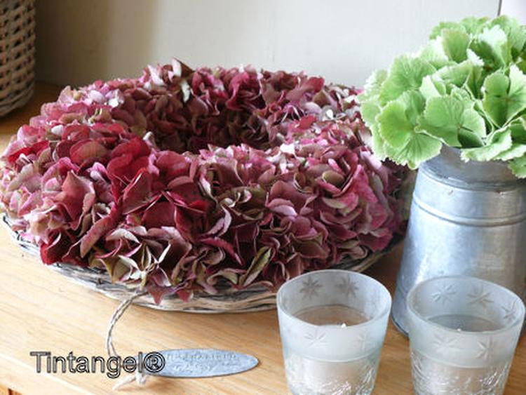 Mooie Hortensia Krans Foto Geplaatst Door Angeel Op Welkenl