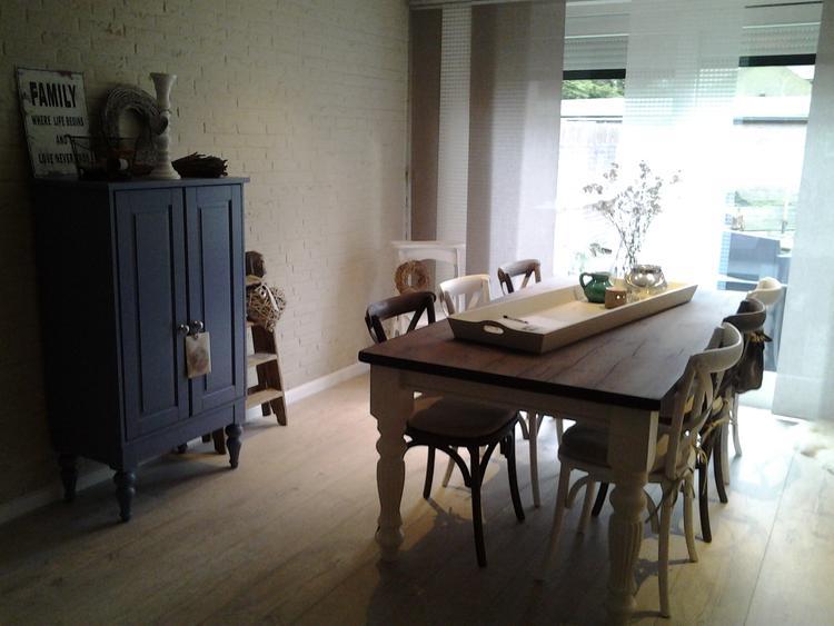 Landelijke inrichting woonkamer. Foto geplaatst door Manonsantbergen ...
