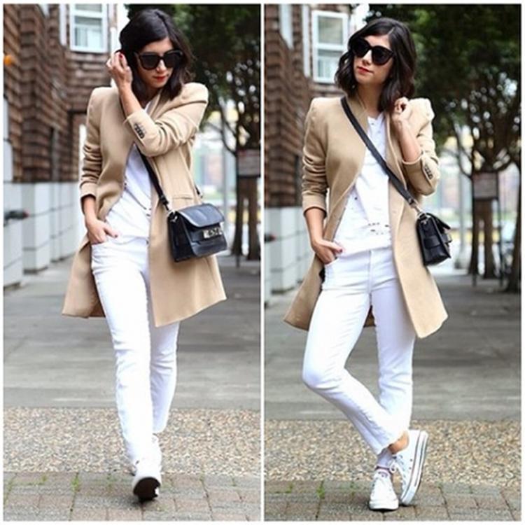 Kleding Fashion.Maandag Fashion Inspiratie Mode Kleding Outfit Look Foto