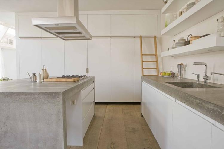 Beton In Keuken : Keuken strak beton. foto geplaatst door vermeirca op welke.nl