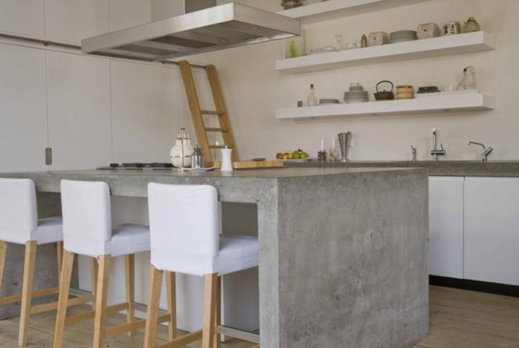 Keuken Met Betonblad : Keuken strak beton. foto geplaatst door vermeirca op welke.nl
