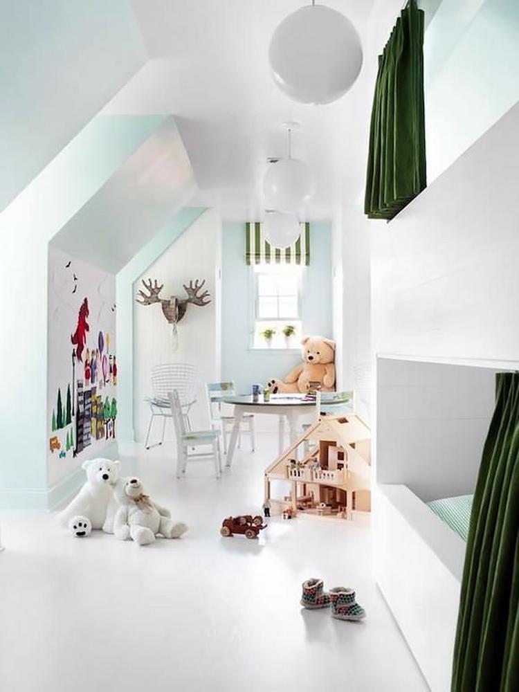 leuk idee voor kinderkamer op zolder. foto geplaatst door natass, Deco ideeën