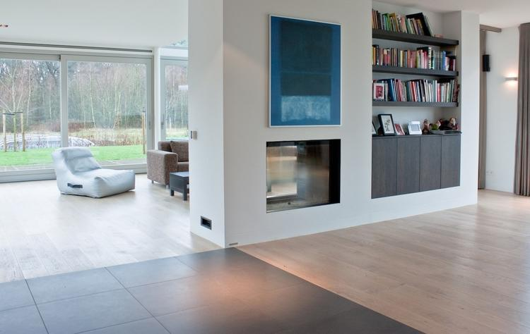 MoreFloors vloeren Breda mooi strak interieur met speelse elementen ...