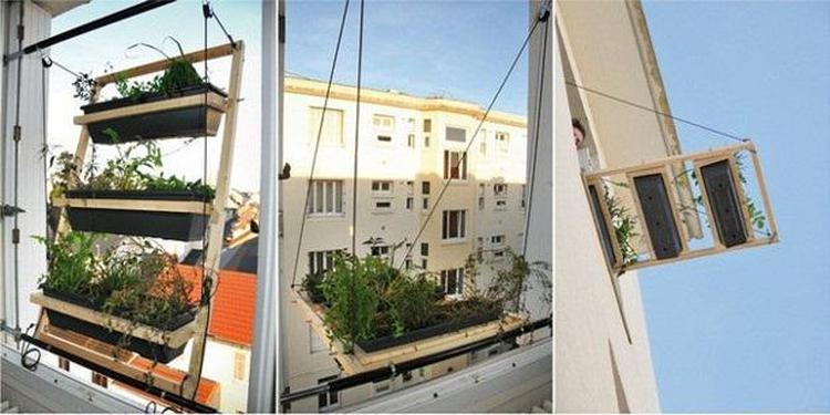 Maak Een Tuintje Van Je Balkon Met Deze Plantenbak Foto Geplaatst