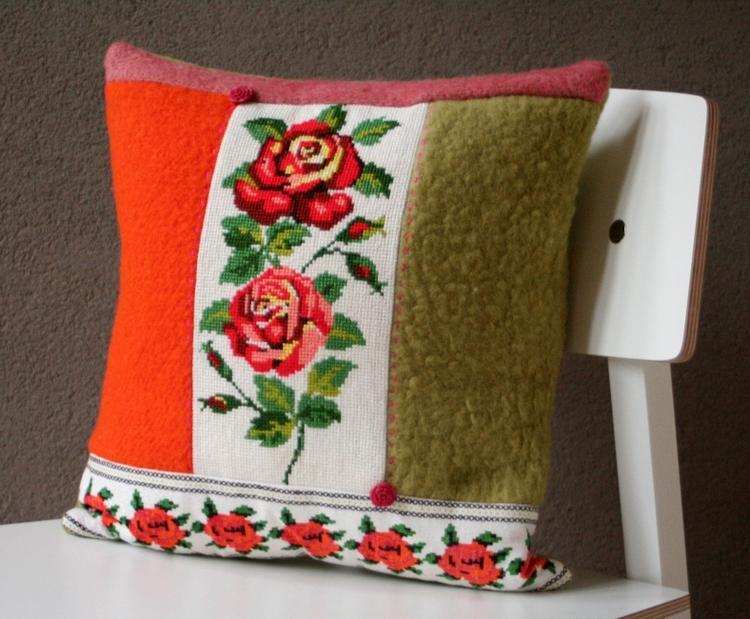 Stof Voor Kussens : Bedbank van stof farwest met opbergkist kleuren
