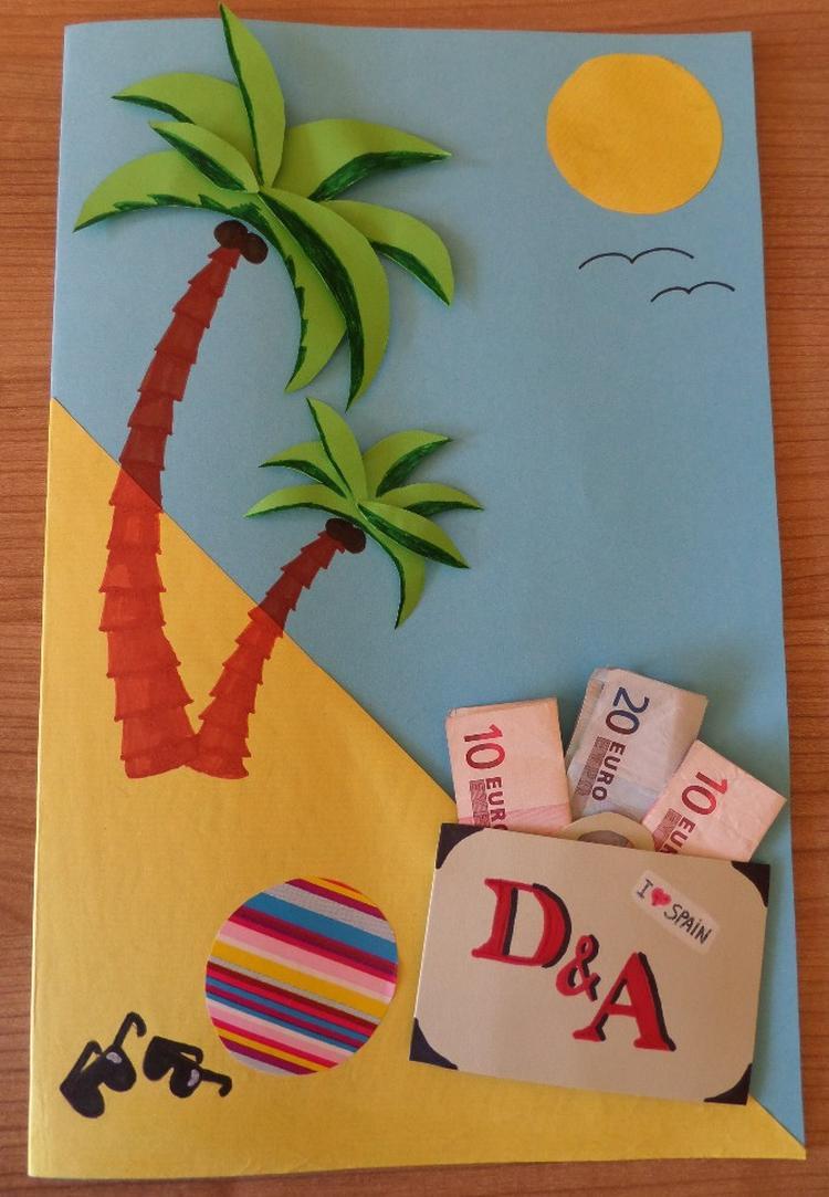 Super Geld kado geven voor bv een vakantie. Foto geplaatst door martine  ND28