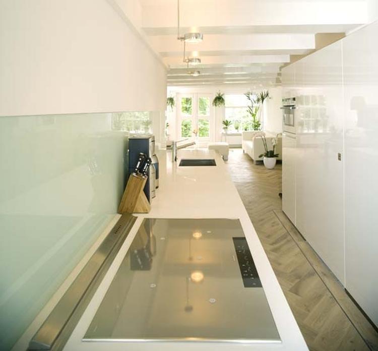 Vloer keuken witte - Witte keukens houten ...
