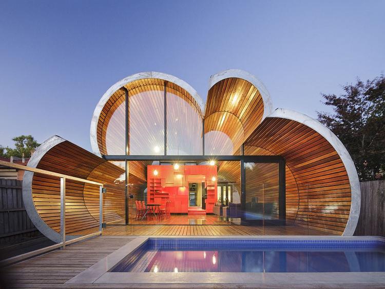 Wolkvormige woning australie foto geplaatst door nieuwewoning op